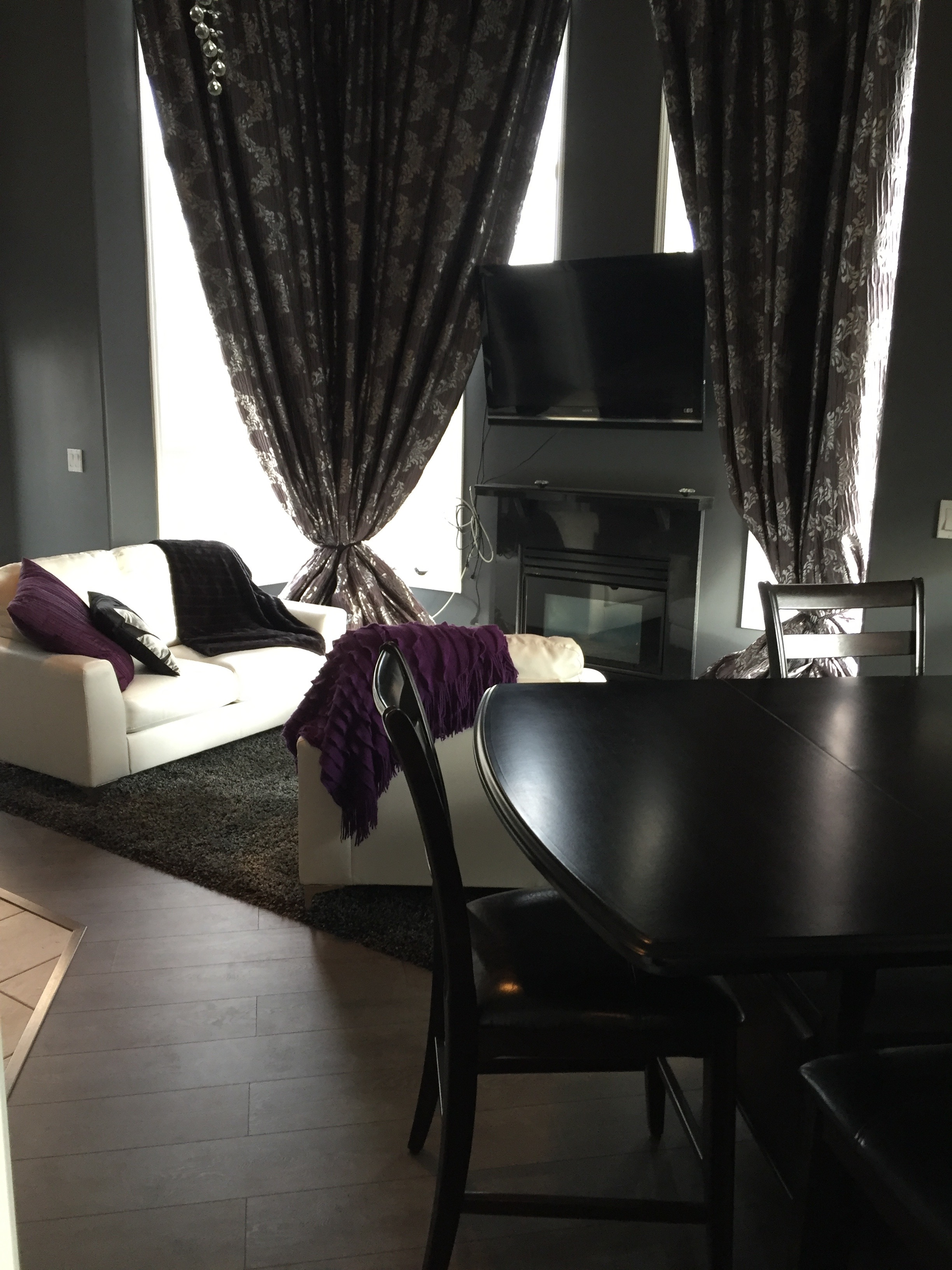 2 bedroom + loft, 2 bath Condo Penthouse. Oliver. $2000/month Furnished