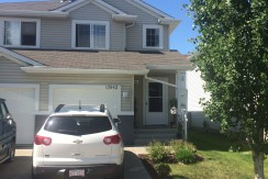 Fabulous 3 bedroom duplex with finished Basement and Fully Fenced Yard $1675