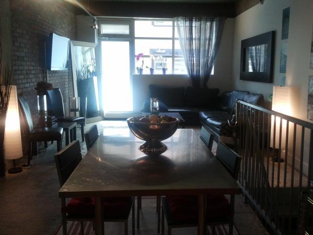 LOFT JUST STEPS FROM ROGERS ARENA. $1800/month FULLY FURNISHED