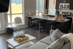 Fully Furnished 1 bed 1 bath in THE ULTIMA TOWER Downtown. $1700
