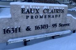 2 bed 2 bath condo Eaux Claires Promenade $1349/month
