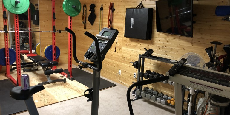 10 - Basement Living Space (Gym)